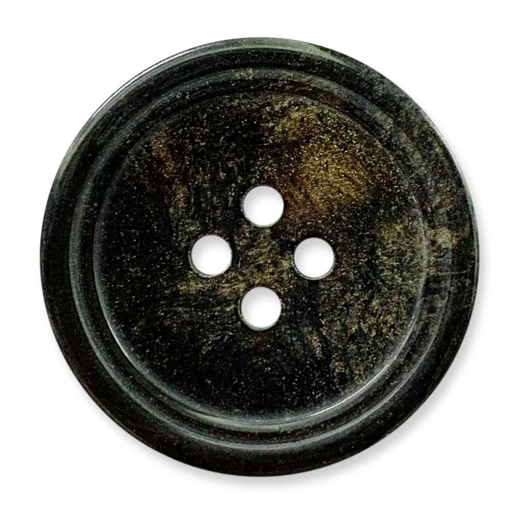 台灣製 樹脂釦 4孔 polyester 亮面效果 10顆/組 西服鈕釦 大衣鈕釦 0227 7號色