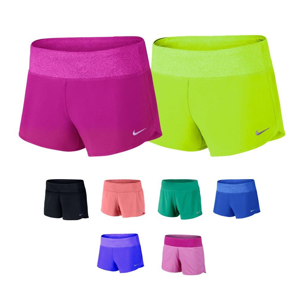 NIKE DRI-FIT 女版慢跑短褲 飄飄褲 馬拉松褲 運動褲 附內襯 單件組(1280款)