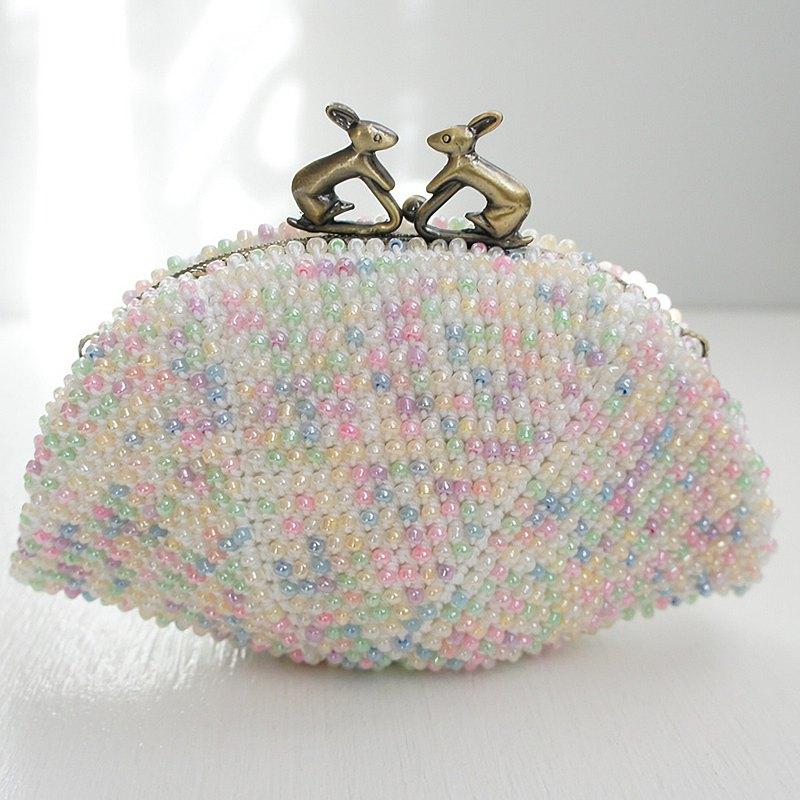 BA-BA手工串珠鉤針編織小袋No.1370
