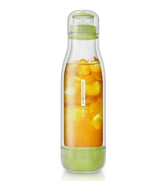 金時代書香咖啡 Driver 防撞玻璃保冷瓶 500ml - 粉綠 DR-BY29001A-GR