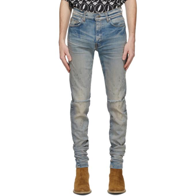 Amiri 蓝色 Shotgun 牛仔裤