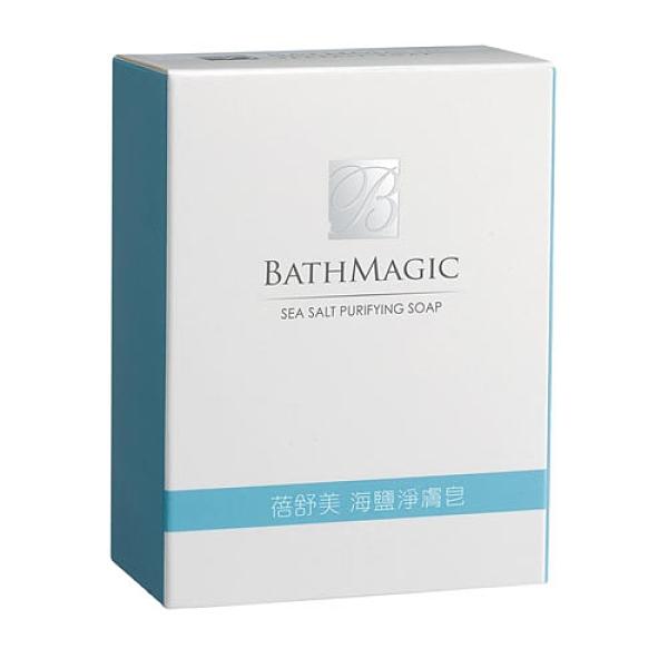 台鹽蓓舒美海鹽淨膚皂130g【愛買】