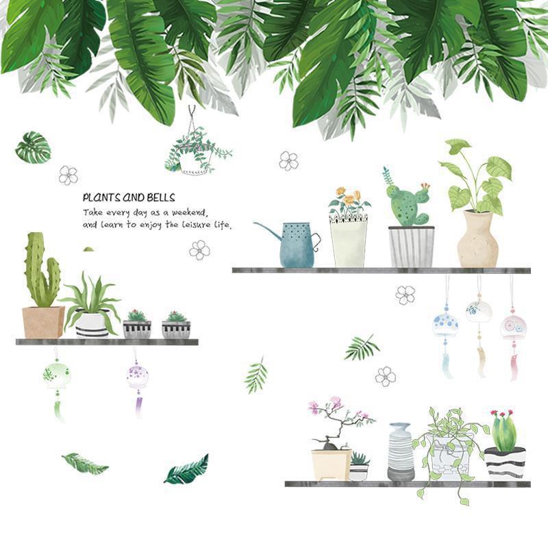 【五象設計】壁貼 植物裝飾 貼紙