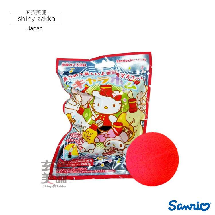 日本三麗鷗公仔入浴球-樂隊主題(玫瑰香氛)-玄衣美舖
