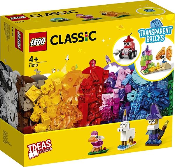 【愛吾兒】LEGO 樂高 Classic經典系列 11013 創意透明顆粒