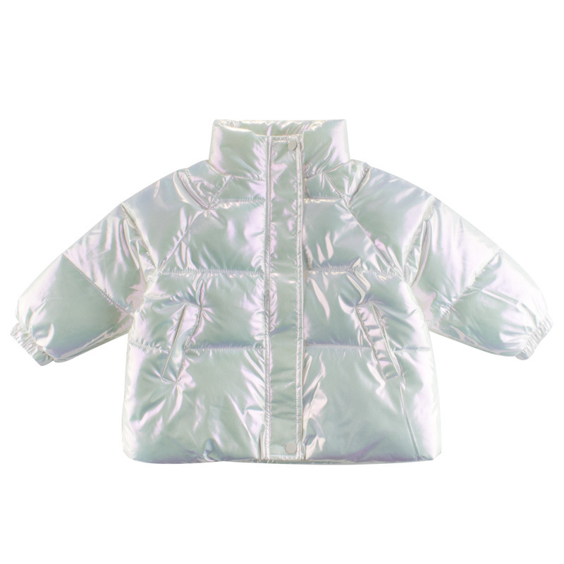 27品牌童裝外套洋氣純色韓版童裝新品 兒童棉服外套 2020冬季加厚外套 保暖寶寶服裝