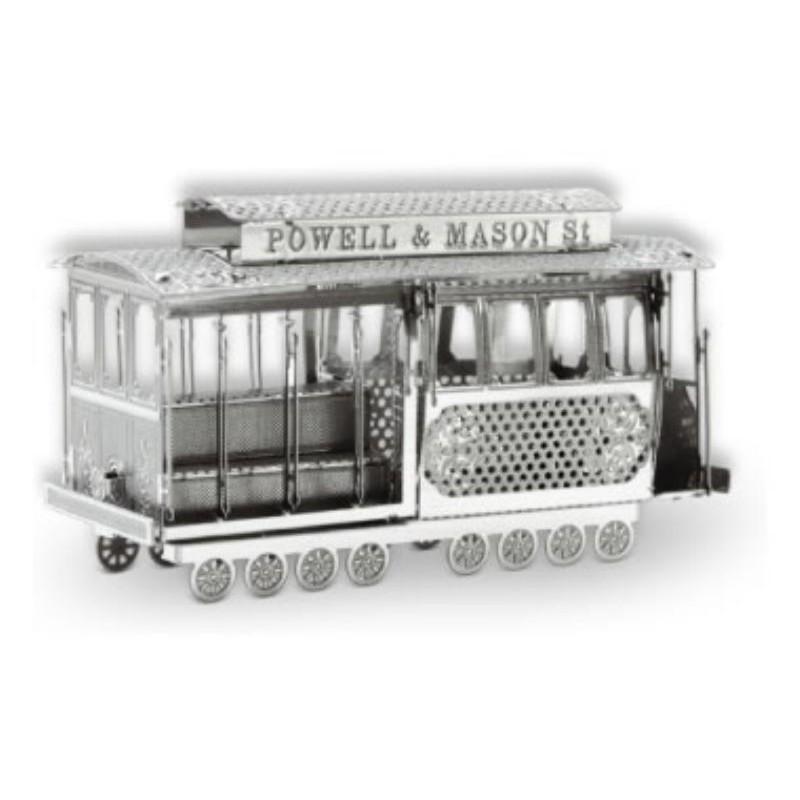 Tenyo 舊金山纜車 拼圖總動員 鐵片 3D立體 日本進口拼圖
