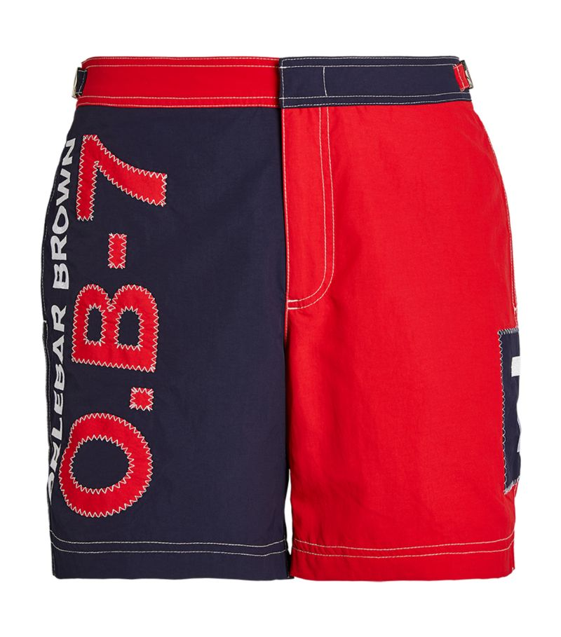 Orlebar Brown Colour-Block Bulldog Swim Shorts