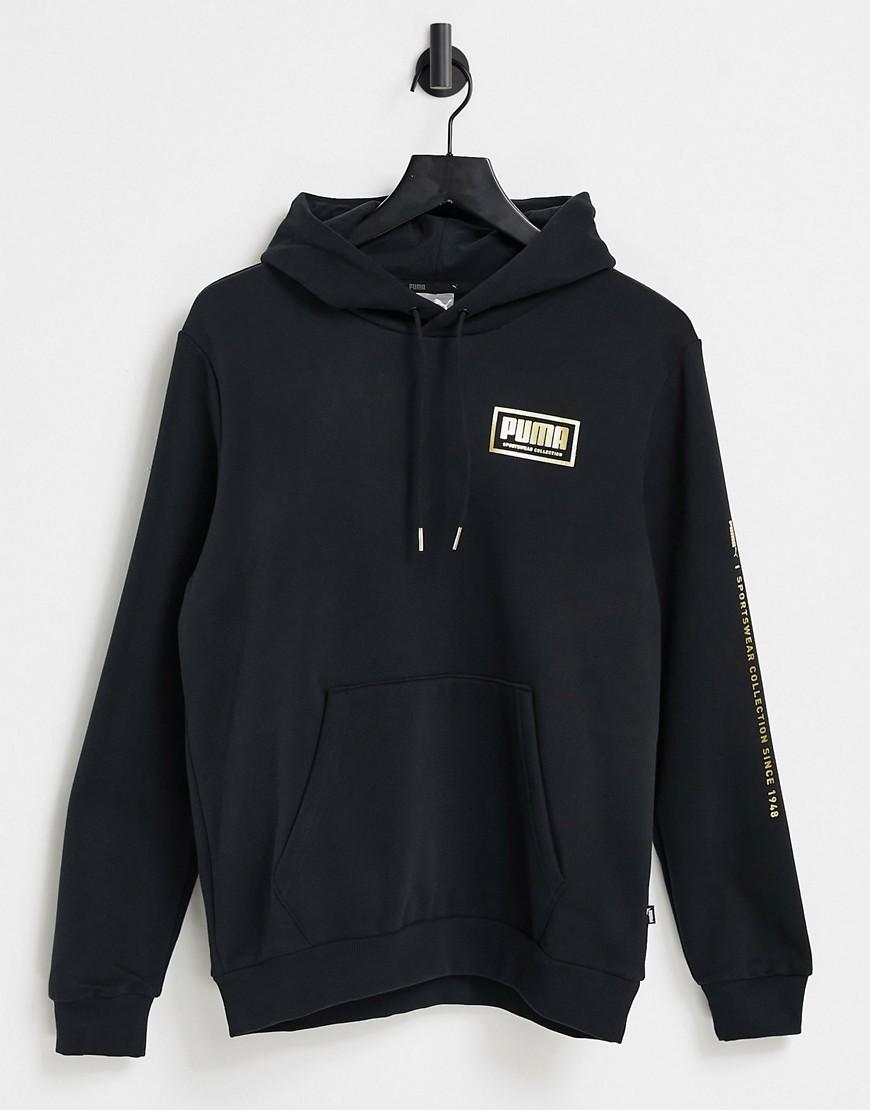 Puma hoodie in black
