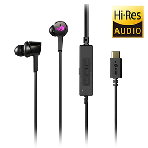 ASUS 華碩 ROG Cetra RGB Type-C 接孔 入耳式電競耳機