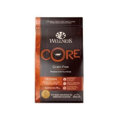 WELLNESS寵物健康-CORE無穀系列-成犬-經典美味食譜 24LBS/10.9KG (贈 全家禮卷150元)