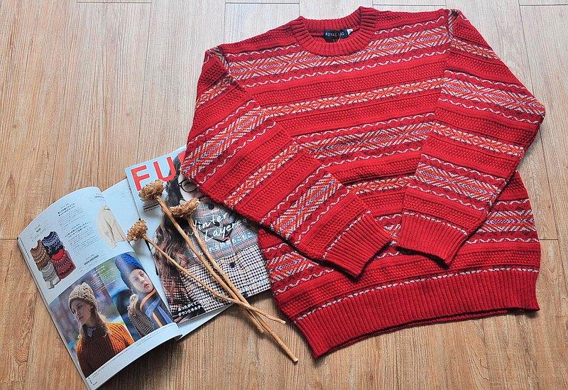 Vintage 上著 / 全新品套頭毛衣 no.125