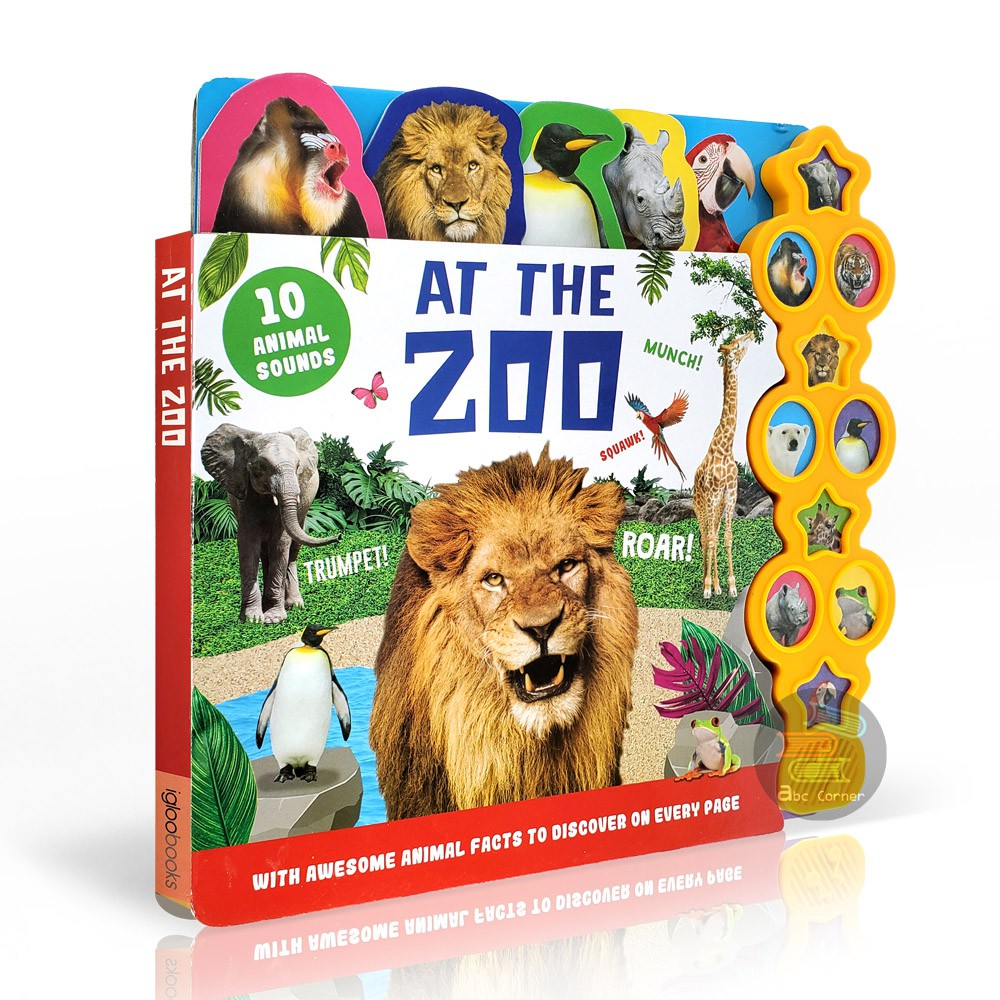 【At The Zoo】10 Sounds音效書 原裝正版現貨