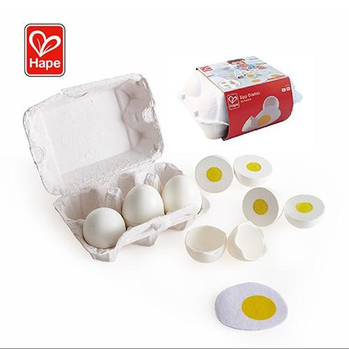 【德國Hape 愛傑卡】營養雞蛋盒E3156