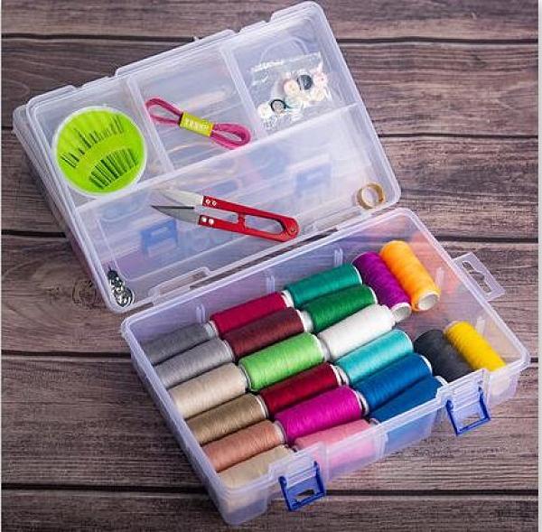 縫紉線 針線套裝家用針線盒縫紉線手縫小卷手工縫衣線高檔線針線包學生【快速出貨八折搶購】