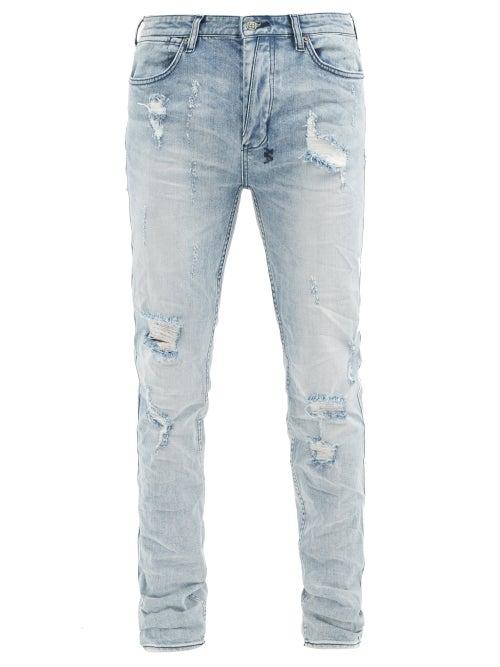 Ksubi - Van Winkle Skinny-leg Jeans - Mens - Blue