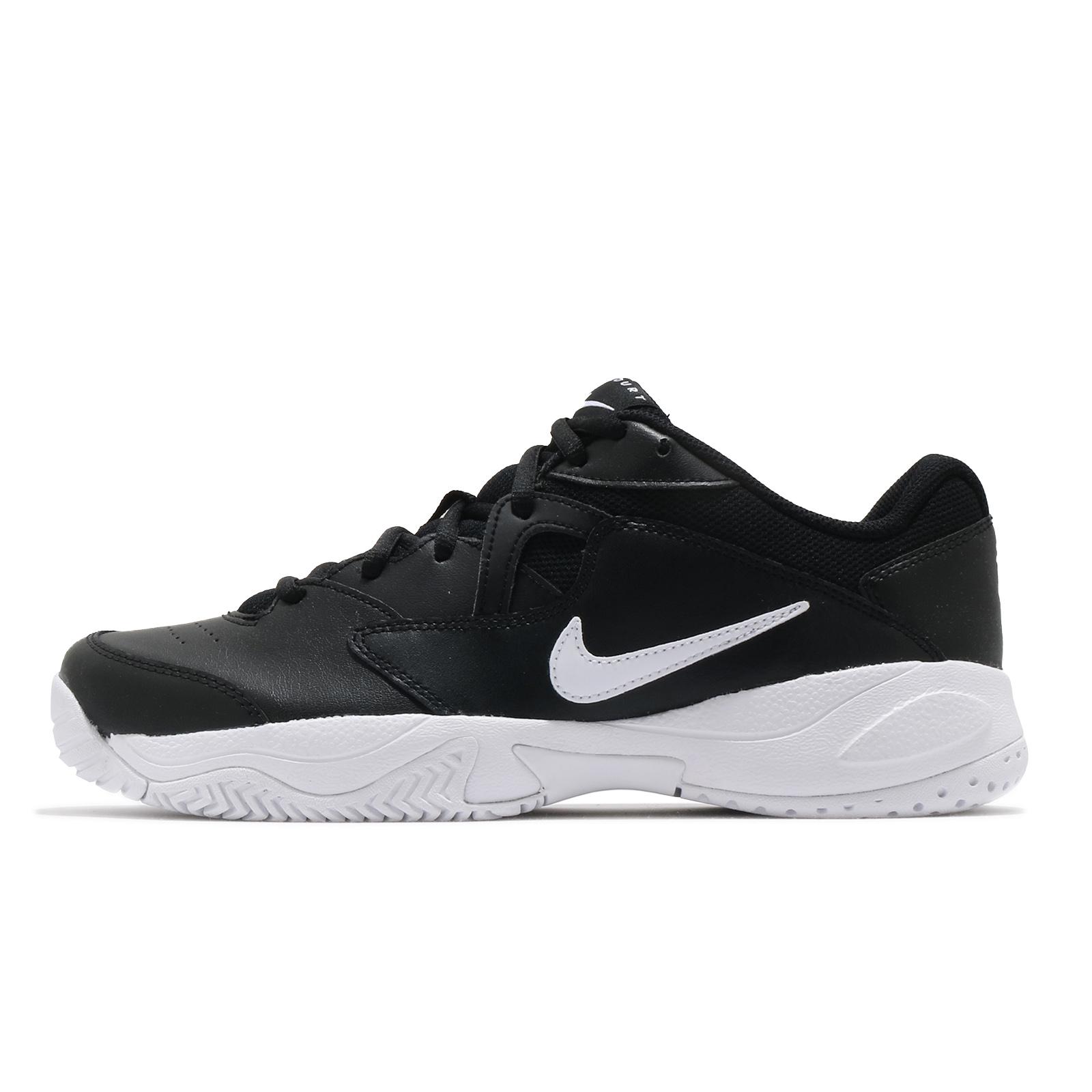 Nike 網球鞋 Court Lite 2 黑 白 基本款 硬地球場 男鞋 運動鞋【ACS】 AR8836-005