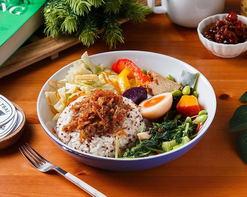 愛米菜・Omnipork 新滷肉飯蔬食套餐