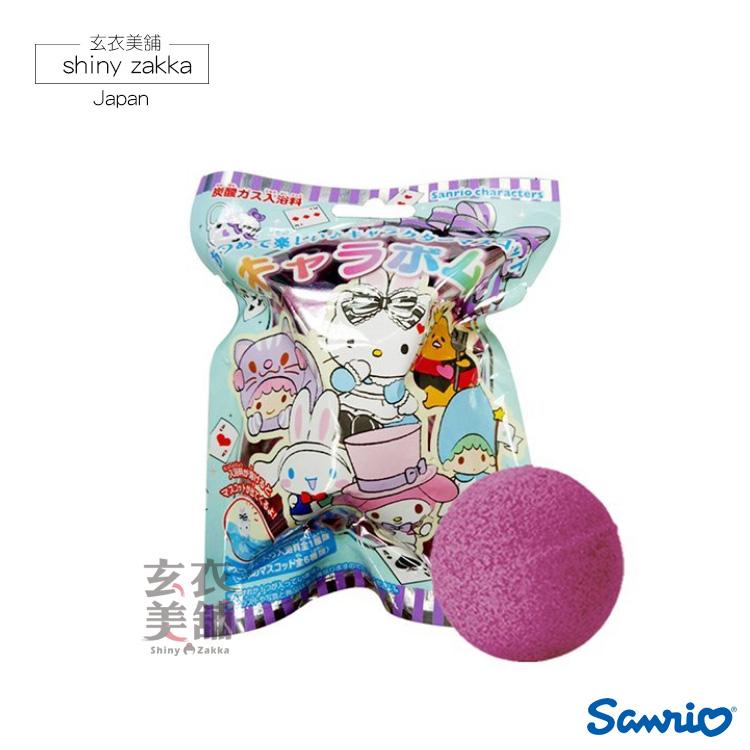 日本三麗鷗公仔入浴球-愛麗絲主題(黑醋栗莓果香氛)-玄衣美舖