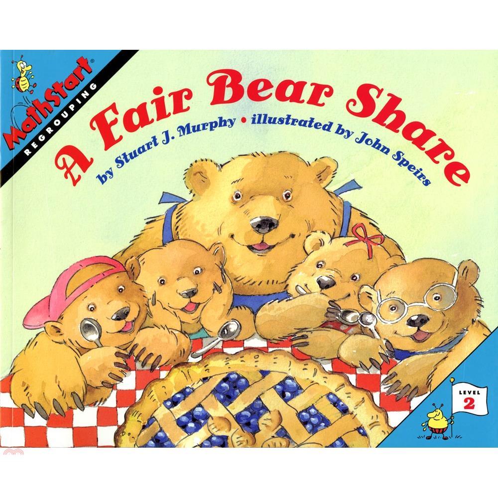 A Fair Bear Share ─ Regrouping (Level 2)【三民網路書店】[79折]