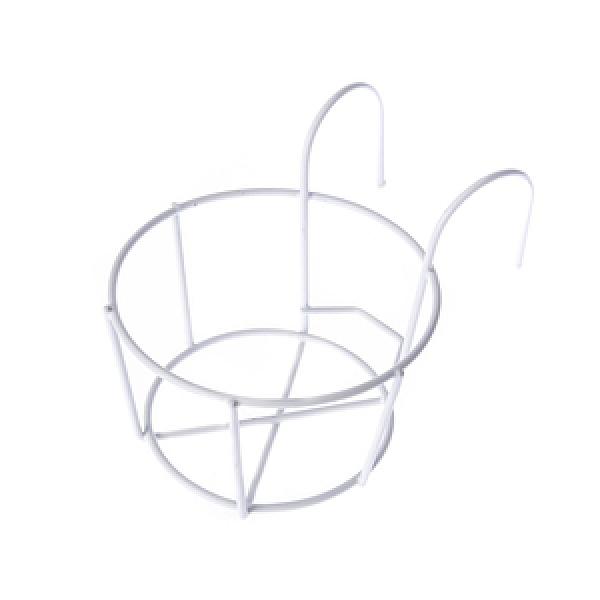 單盆鐵掛架白色(小)