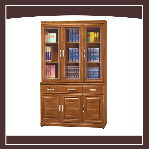 樟木4尺書櫃(全組) 21239464007