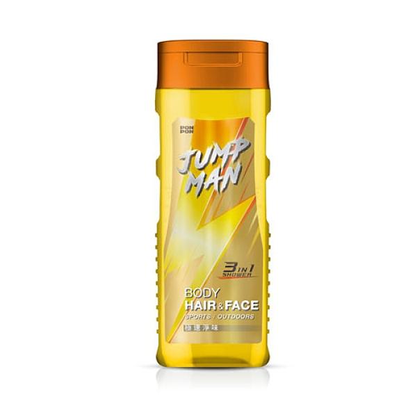 JUMP MAN極速淨味三效潔淨露320g【愛買】