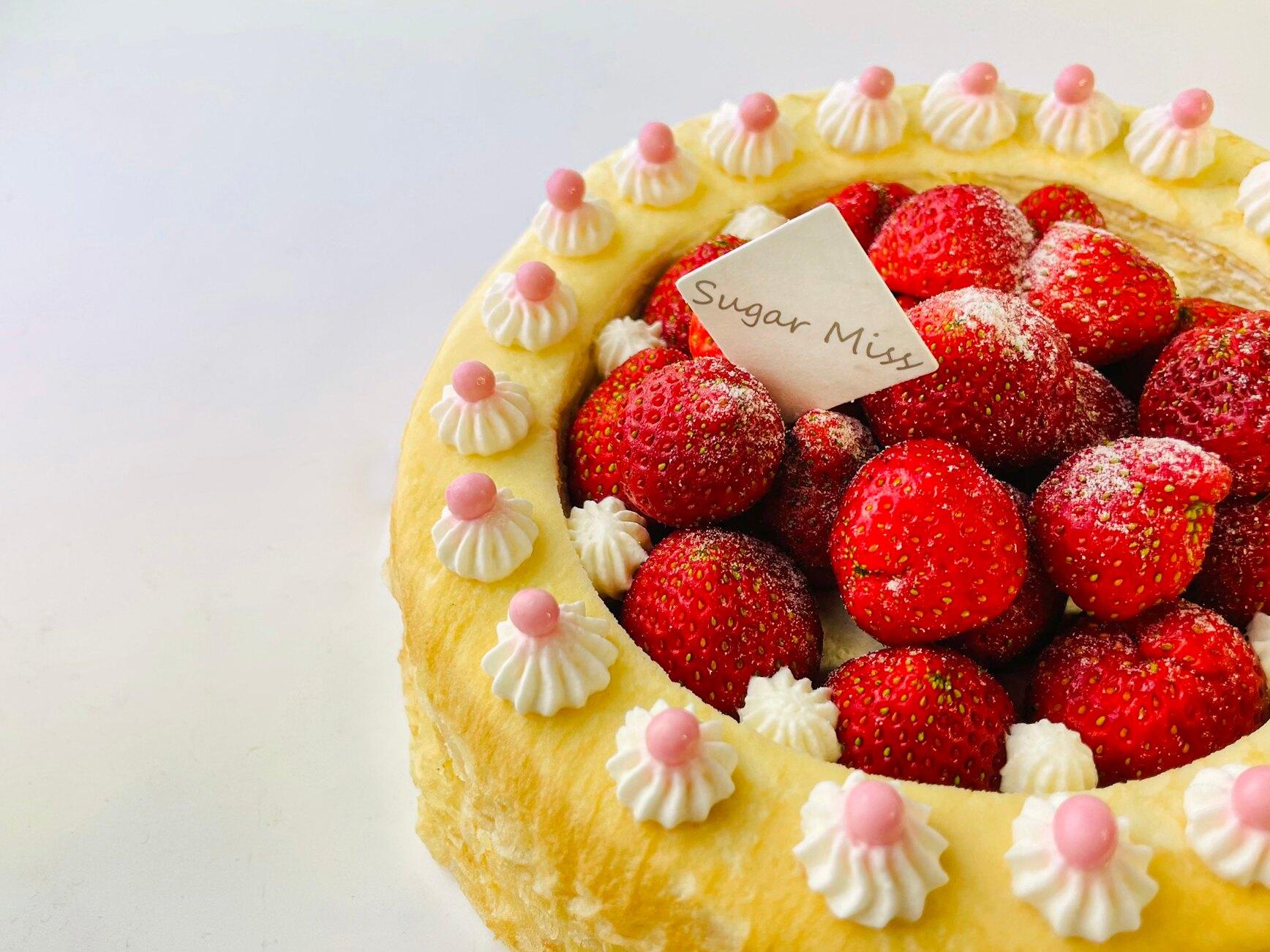 【Sugar miss】草莓千層蛋糕 6吋