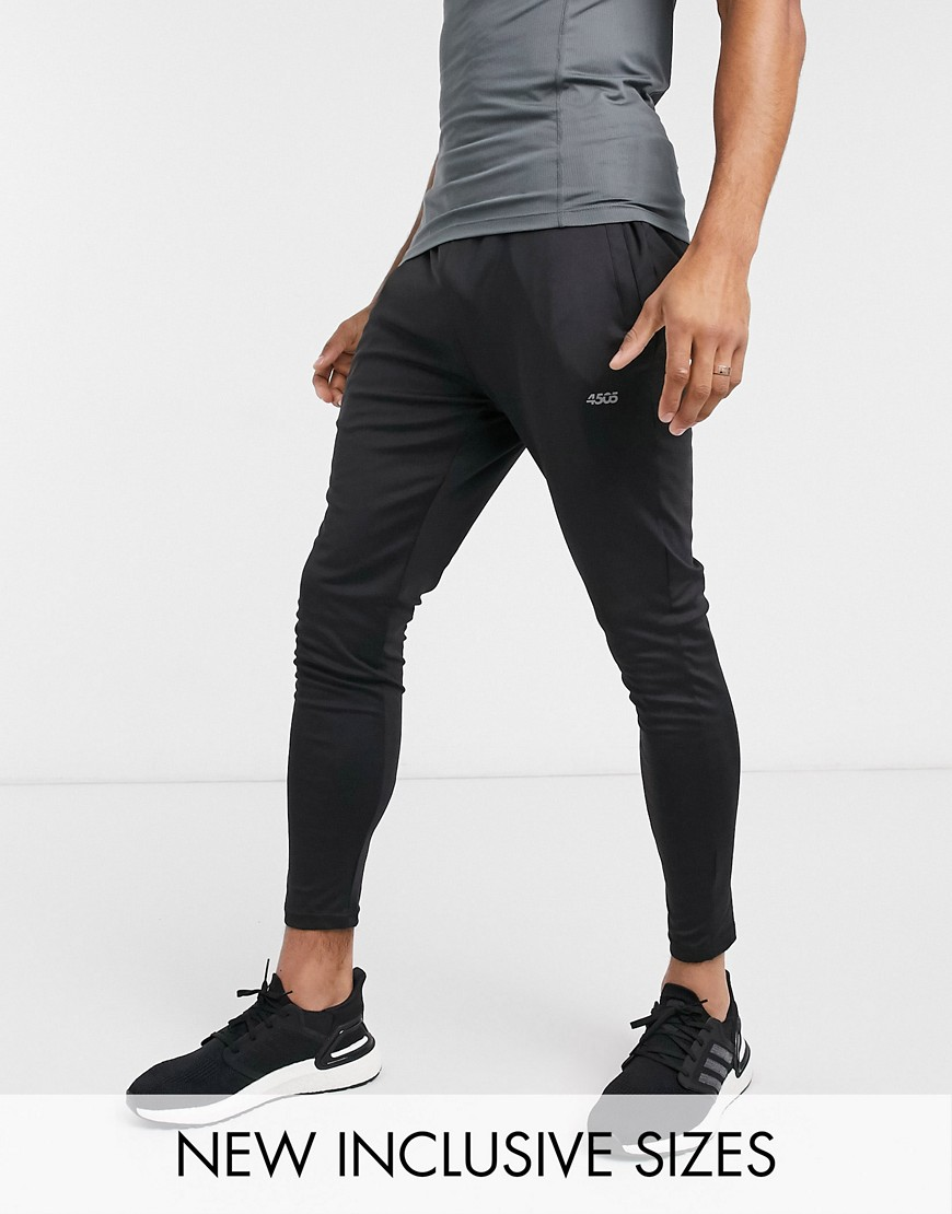 ASOS 4505 icon training super skinny jogger with quick dry in black