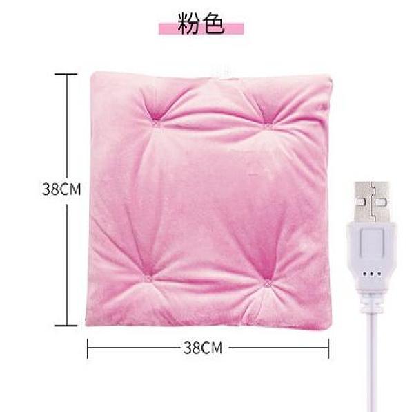 加熱坐墊 發電發熱辦公室座椅墊春季保暖電加熱坐墊USB汽車坐椅子發熱墊【快速出貨八折優惠】