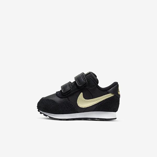 Nike Md Valiant Tdv [CN8560-009] 小童鞋 運動 休閒 慢跑 籃球 緩震 舒適 抓地 黑
