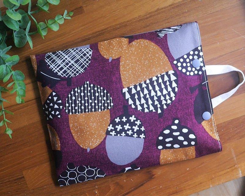 限量訂製=環保紅豆暖暖包/紅豆熱敷墊=日本布料=橡實=紫(共5色)