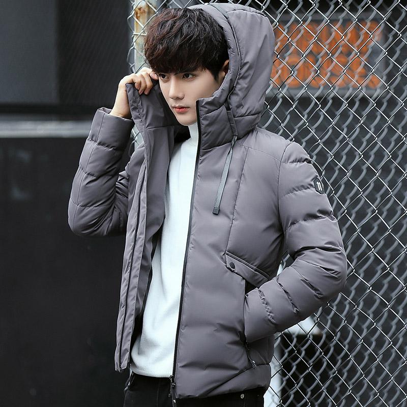 加厚保暖機能防潑水防風立領連帽外套 拉鍊口袋高領外套【QTJBY611】