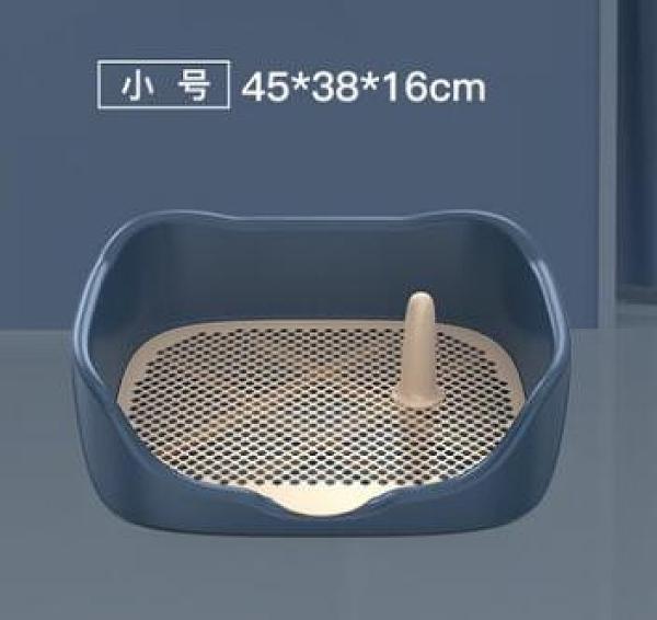 寵物廁所 柯基中型小型犬自動寵物用品尿盆便盆沖水排狗砂盆防踩屎TW【快速出貨八折搶購】