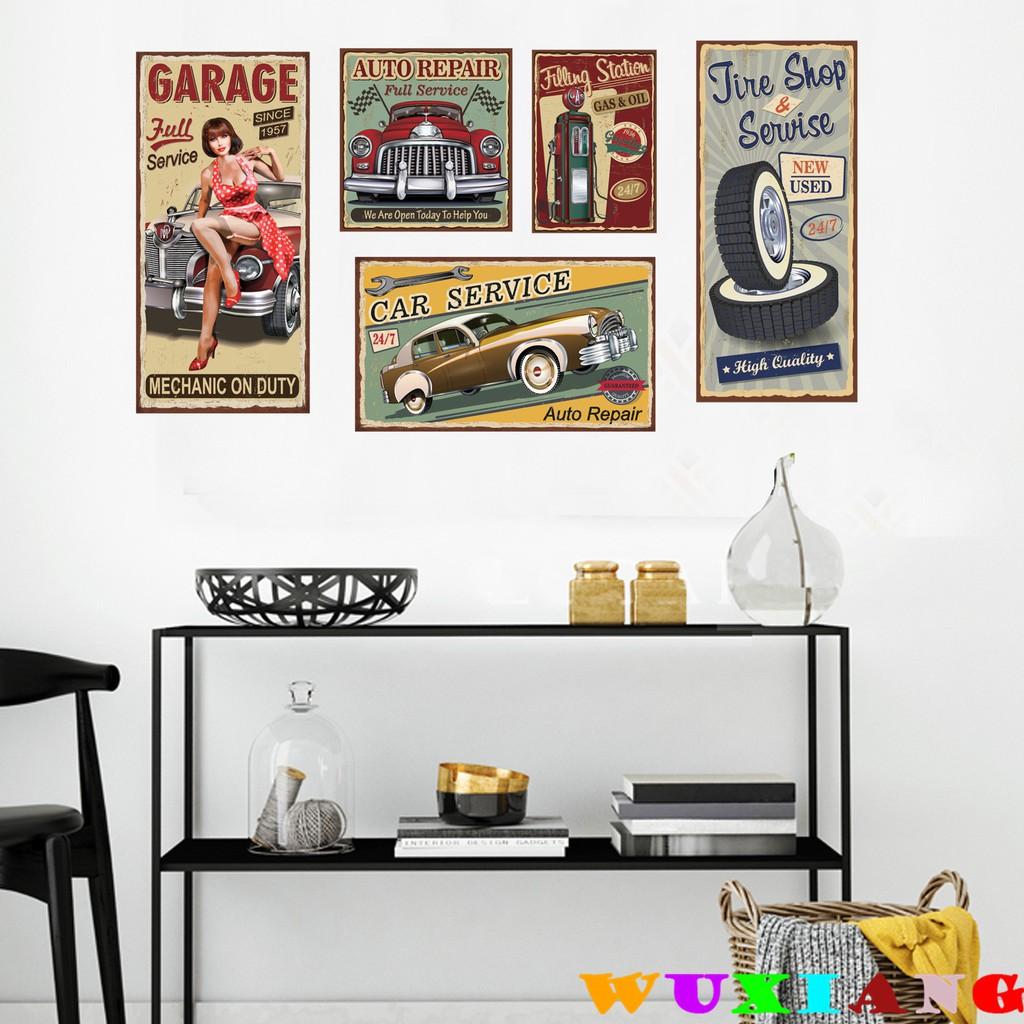 【五象設計】壁貼 復古海報 古典 牆貼