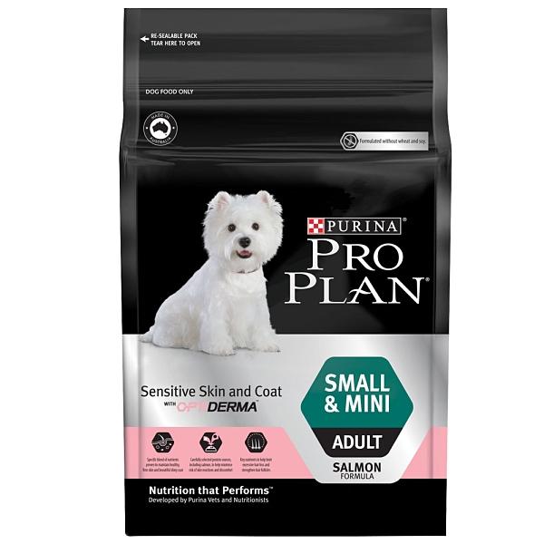 PROPLAN 冠能 小型及迷你成犬鮭魚+魚油敏感皮膚專用配方 2.5kg