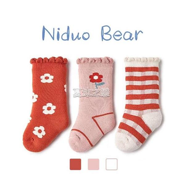 2020嬰兒襪子冬季加厚保暖襪寶寶加絨毛圈襪兒童襪秋冬棉