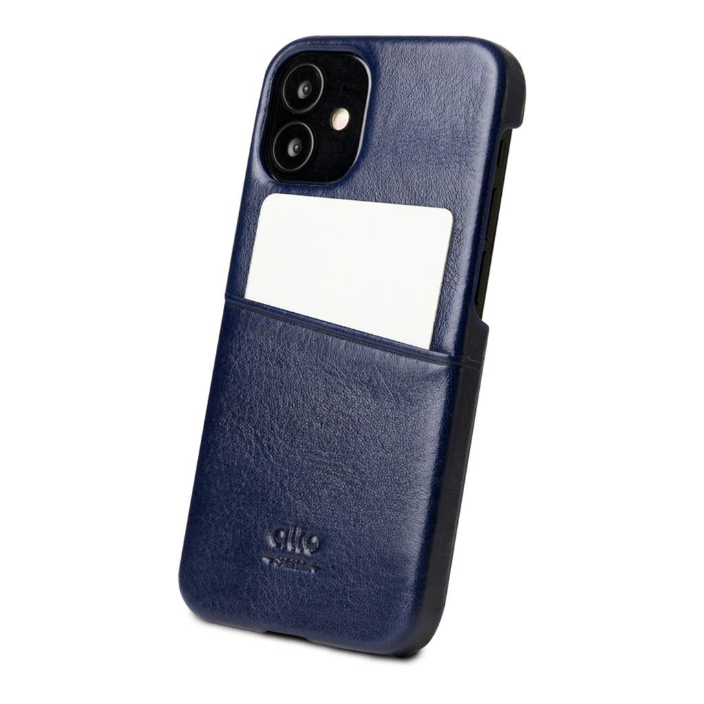 Alto Metro 皮革手機殼 (iPhone 12 mini)/ 渡鴉黑/焦糖棕/海軍藍/礫石灰