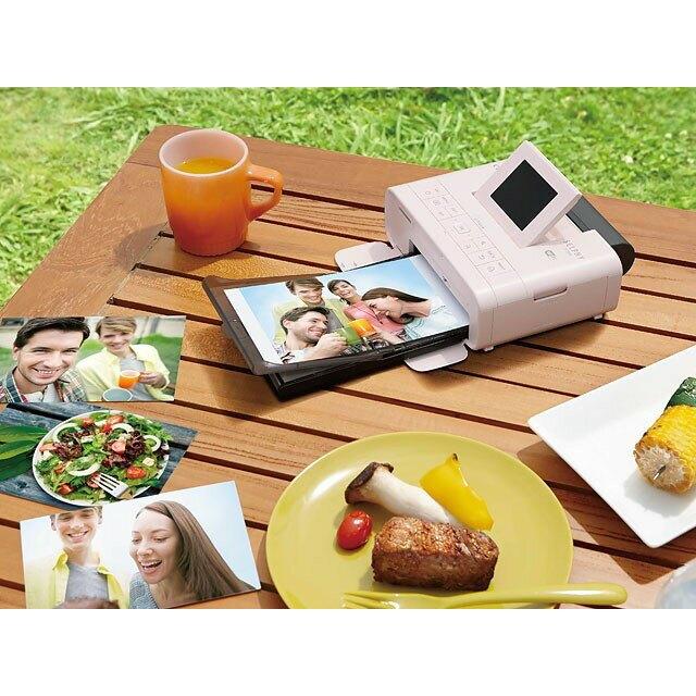CANON CP1300 熱昇華相片印表機/白、黑、粉 公司貨送54張4*6相片紙 CP-1300