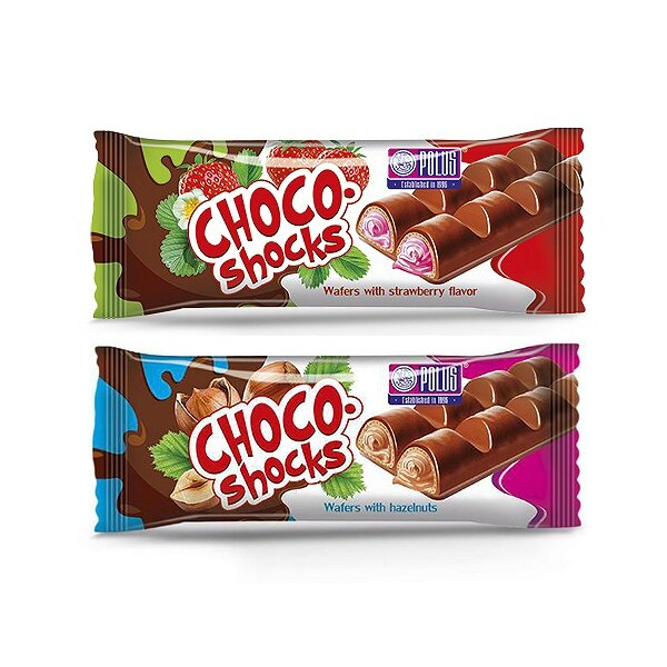 POLUS 味覺繽紛巧克力威化條(40g) 款式可選【小三美日】◢D210229