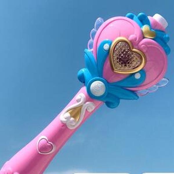泡泡機 兒童吹泡泡機器槍魔法棒照相機美少女心電動玩具【快速出貨八折下殺】