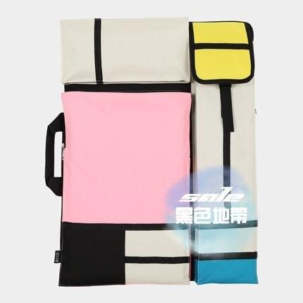 畫板包 格子畫板袋畫袋 美術袋 大容量畫袋美術袋藝考畫袋4K畫包 專用美術畫包畫包T【年終尾牙 交換禮物】