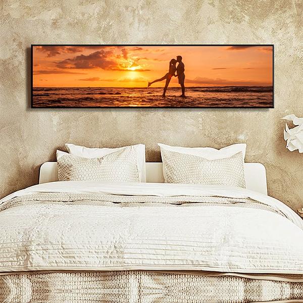 現代簡約臥室床頭裝飾畫北歐客廳裝飾畫酒店掛畫【輕奢時代】