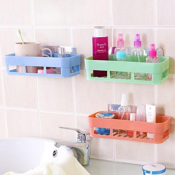 浴室免打孔置物架三角形壁掛架子廁所墻上收納【奇妙商鋪】