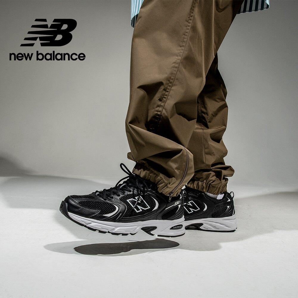 【New Balance】 復古鞋_中性_黑色_MR530SD-D楦