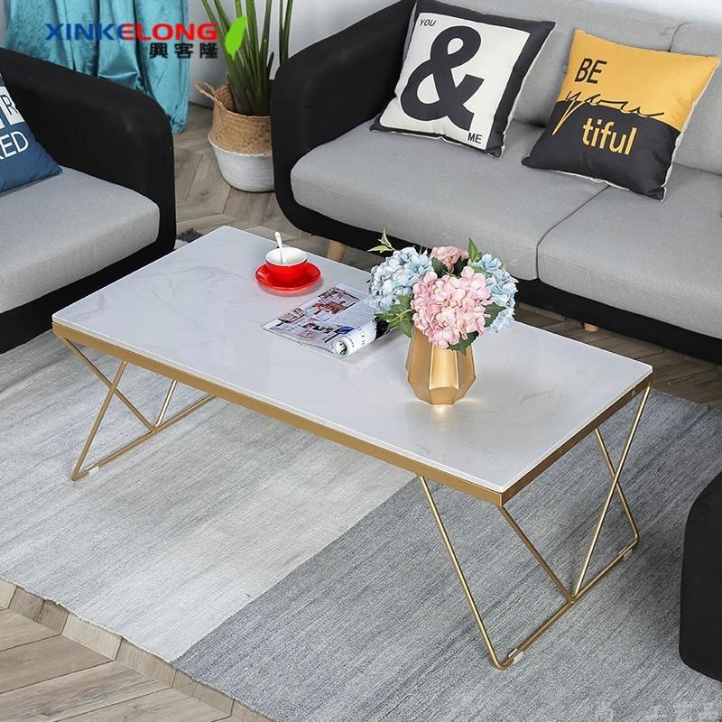 興客隆 茶幾 北歐 簡約 現代 邊桌 大理石桌 小戶型 家用 桌 傢俱