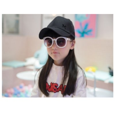 日系兒童棒球帽(10歲以上適用)黑色 CT2004BK