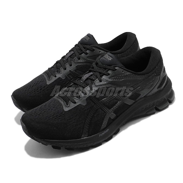 Asics 慢跑鞋 GT-1000 10 4E 超寬楦頭 男 全黑 支撐型 基本款 運動鞋 【ACS】 1011A999006