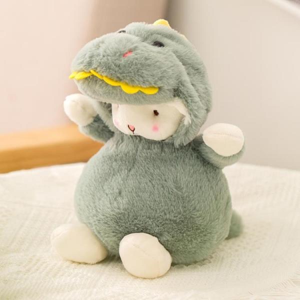 玩偶 網紅小羊公仔毛絨玩具可愛美國羊羊玩偶布娃娃小號兒童生日禮物女【快速出貨八折下殺】