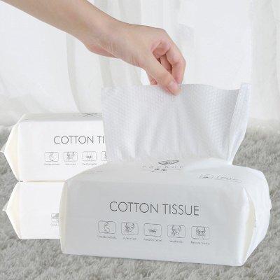 100抽 一次性洗臉巾 乾濕兩用 潔面巾20*20cm 臉部清潔 拋棄式洗面巾 擦臉巾【RS1175】